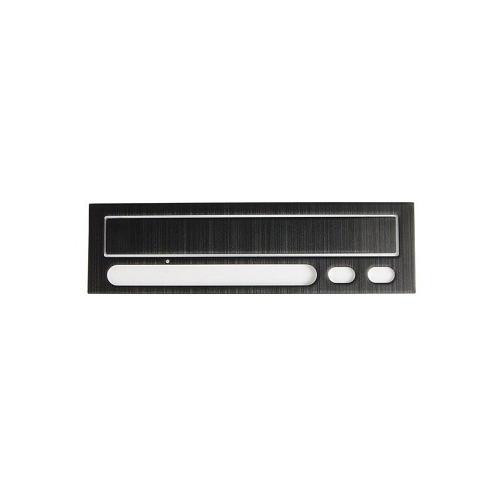 LIAN LI Lian Li Brushed Aluminum Bezel for Aopen Optical Drives - Black