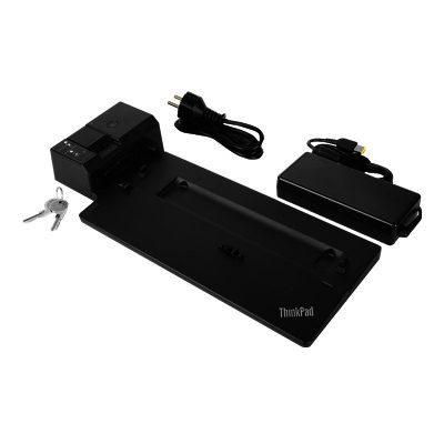 Lenovo ThinkPad Ultra Docking Station 135W includes power cable. For UK,EU.
