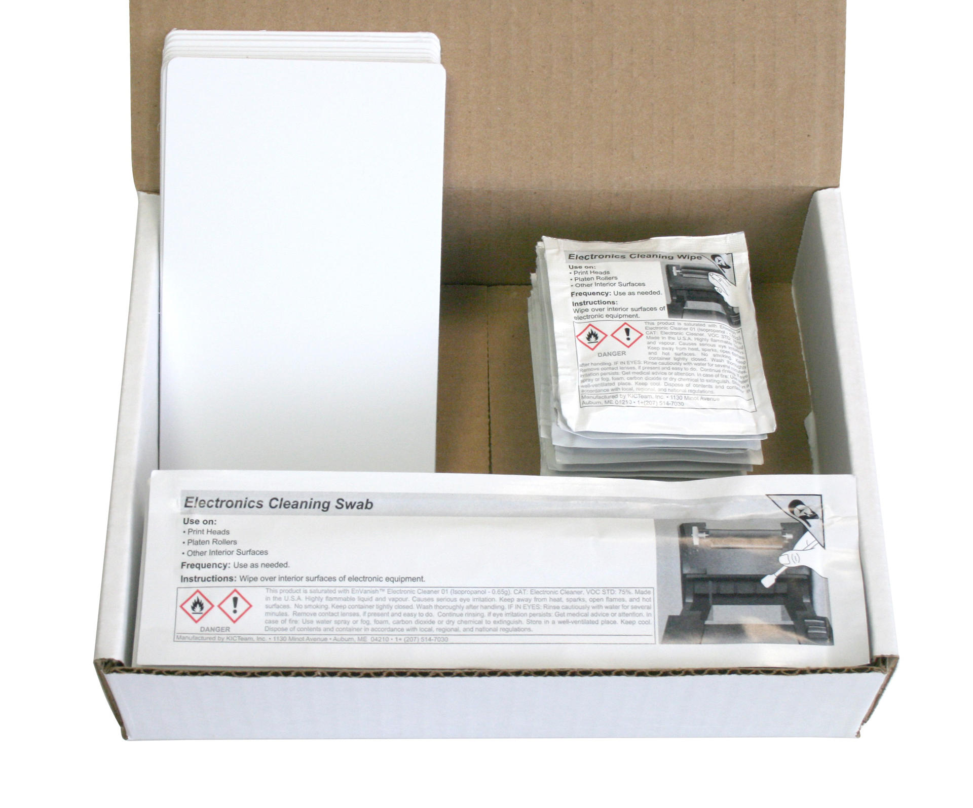 MAGICARD E9887 Printer Cleaning Kit (Pack of 10)