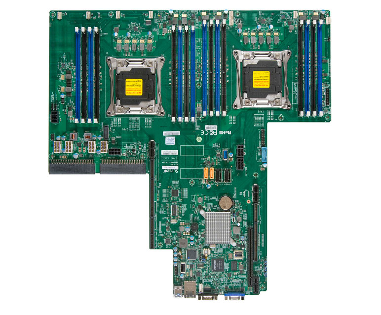 Supermicro Motherboard X10DRU-XLL (Bulk)