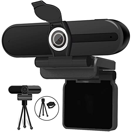HuddleCam 1080P USB Webcam 80 HFOV 1920x1080 30fps Dual Microphones USB 2.0 (Black) App-based OSD